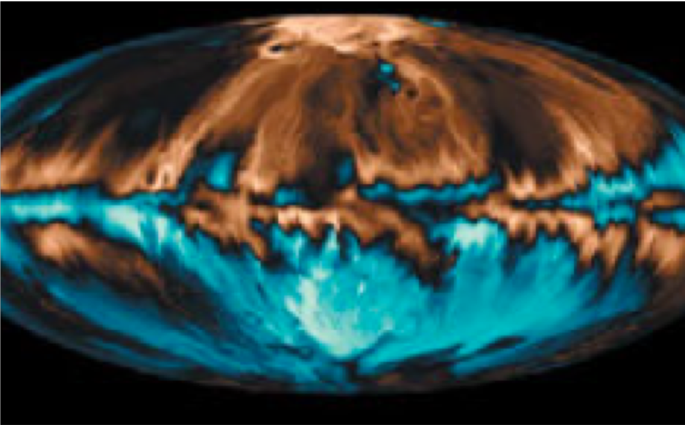 French summer of HPC : Earth's changing magnetic field