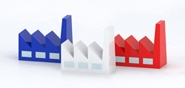 Représentation de l'activité industrielle en France [GENCI, Catherine Rivière]