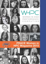 Cover of the PRACE Women in HPC Magazine