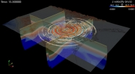 Simulation du tremblement de terre du 20 mai 2012 en Italie du Nord (c) IMAGINE_IT