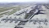 Brouillard sur l'aéroport