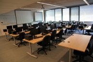 A training room at the Maison de la Simulation